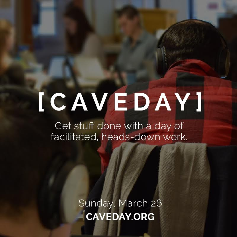 Creativepreneur Happy Hour: CAVEDAY