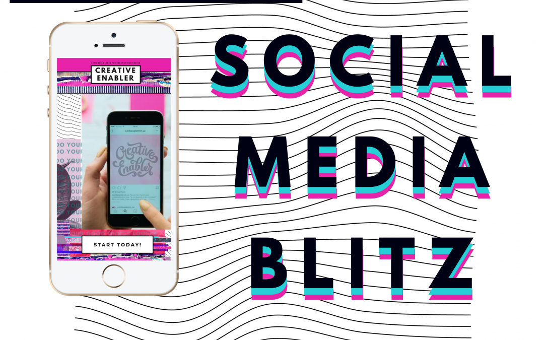 creative enabler social media blitz